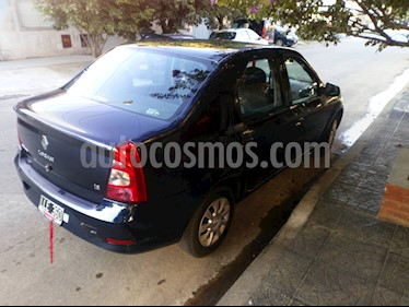 Foto Renault Logan 1.6 Authentique Pack II usado (2012) color Azul Crepusculo precio $215.000