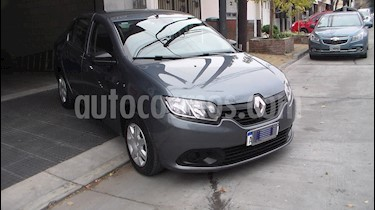 Renault Logan 1.6 Authentique Plus usado (2017) color Gris precio $499.900