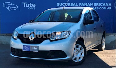 Renault Logan 1.6 Authentique Plus usado (2018) color Gris precio $465.000