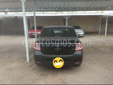 Renault Logan 1.6 Authentique Plus usado (2015) color Negro Nacre precio $460.000