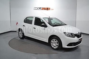 Foto venta Auto usado Renault Logan 1.6 Authentique Plus (2017) color Blanco Glaciar precio $350.000