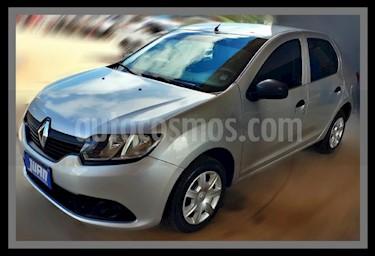Foto venta Auto usado Renault Logan 1.6 Authentique (2017) color Gris Claro precio $423.000