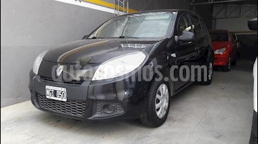 Renault Logan 1.6 Authentique usado (2013) color Negro precio $305.000