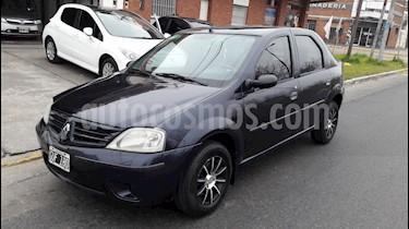 Renault Logan 1.6 Confort Pack I usado (2008) color Azul Crepusculo precio $285.000