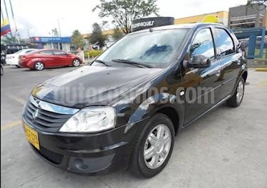 Foto venta Carro usado Renault Logan 1.6 Dynamique AA Mec 4P (2016) color Negro precio $25.990.000