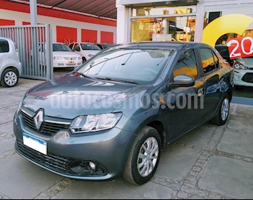 Foto venta Auto usado Renault Logan 1.6 Expression (2017) color Gris Oscuro precio $330.000