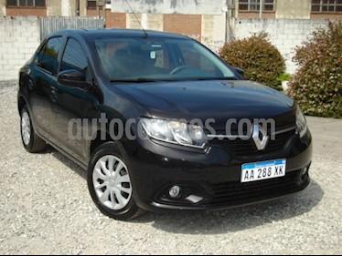 Foto venta Auto usado Renault Logan 1.6 Expression (2016) color Negro precio $130.000