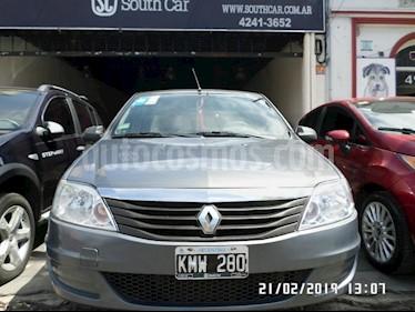 Foto venta Auto usado Renault Logan 1.6 Pack I (2011) color Gris Oscuro precio $174.000