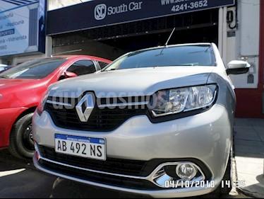 Foto venta Auto usado Renault Logan 1.6 Privilege Plus (2017) color Gris Claro precio $389.000