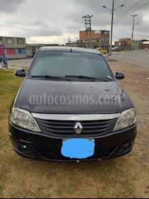Renault Logan 1.6L Dynamique usado (2012) color Negro precio $19.500.000