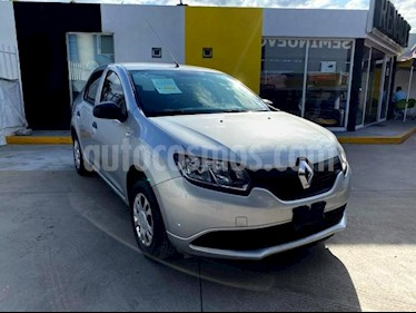 Renault Logan 4P AUTHENTIQUE TM5 R-15 usado (2017) color Gris precio $125,000