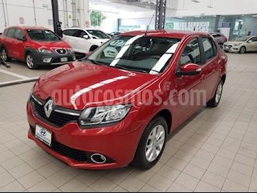Foto venta Auto usado Renault Logan 4p Dynamique L4/1.6 Aut (2017) color Rojo precio $169,000