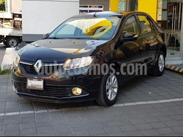 Foto venta Auto usado Renault Logan 4p Dynamique L4/1.6 Man (2017) color Negro precio $126,000