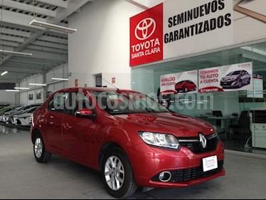 Foto Renault Logan 4P DYNAMIQUE TM5 VE GPS RA-15 usado (2016) color Rojo precio $125,000