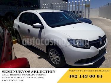 Foto Renault Logan 4p Expression L4/1.6 Aut usado (2016) color Blanco precio $125,000