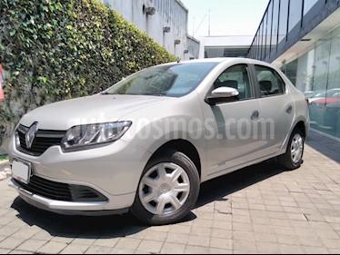 Foto venta Auto usado Renault Logan 4p Expression L4/1.6 Man (2017) color Plata precio $149,000