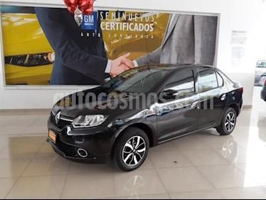 Foto venta Auto usado Renault Logan 4p Intens L4/1.6 Aut (2018) color Negro precio $209,900