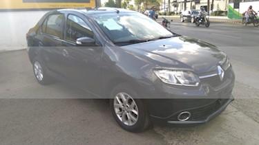 Foto venta Auto usado Renault Logan 4p Intens L4/1.6 Aut (2018) color Gris precio $170,000