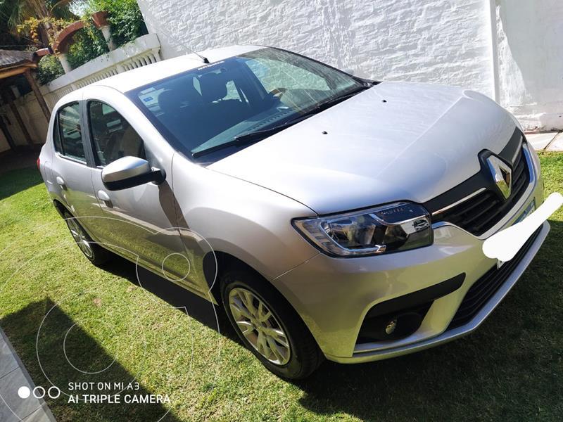 Renault Logan 1.6 Zen usado (2020) color Gris Acero precio $1.320.000