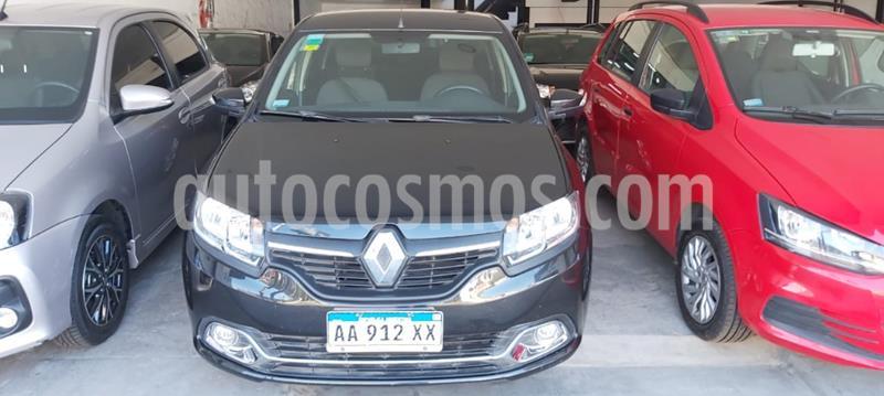Renault Logan 1.6 Privilege usado (2017) color Negro precio $955.000