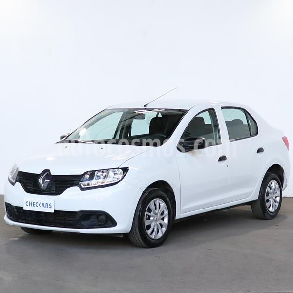 Renault Logan 1.6 Authentique usado (2015) color Blanco Glaciar precio $582.000