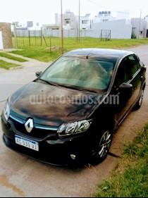 Renault Logan 1.6 Expression usado (2018) color Negro Nacre precio $675.000