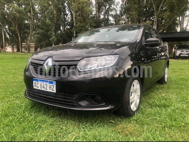 Renault Logan 1.6 Authentique usado (2018) color Negro precio $640.000