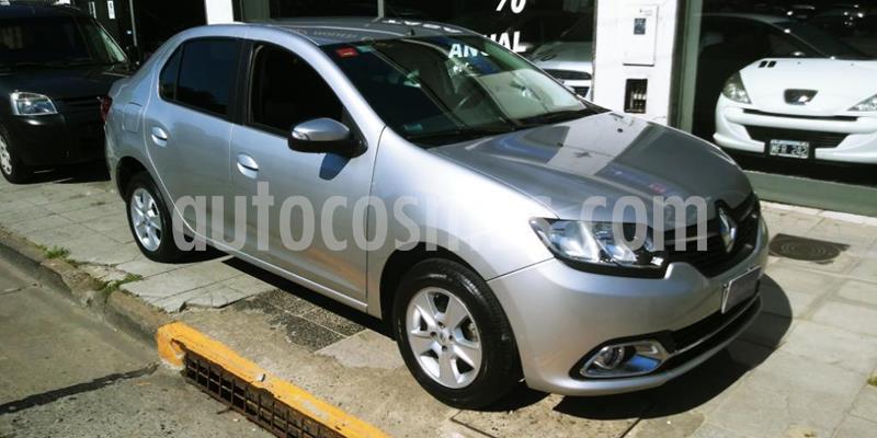 Renault Logan 1.6 Privilege Plus usado (2014) color Gris Claro precio $615.000