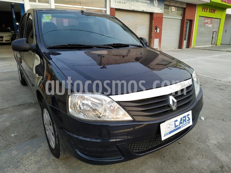 Renault Logan 1.6 Pack II usado (2013) color Negro Nacre precio $415.000