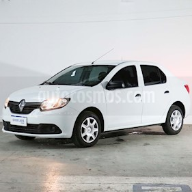 Renault Logan 1.6 Authentique Plus usado (2018) color Blanco Glaciar precio $567.000