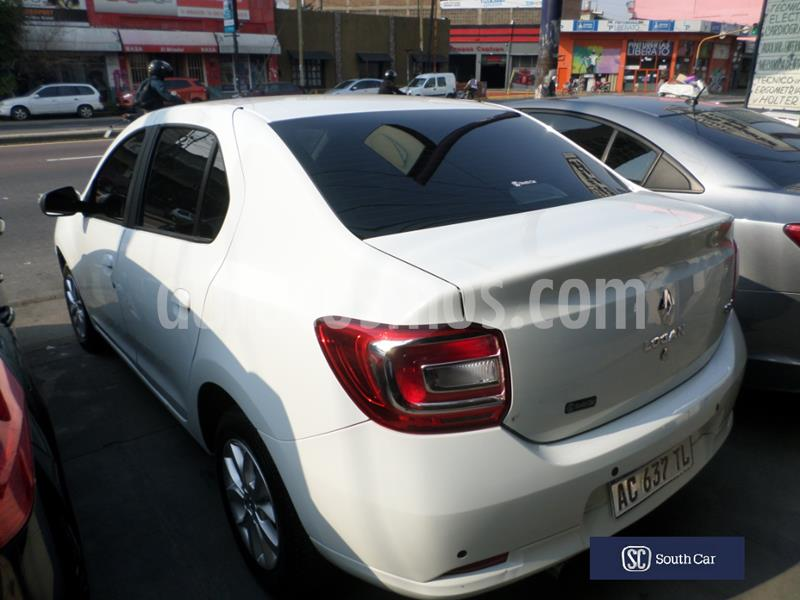 Renault Logan 1.6 Privilege Plus usado (2018) color Blanco precio $1.055.000