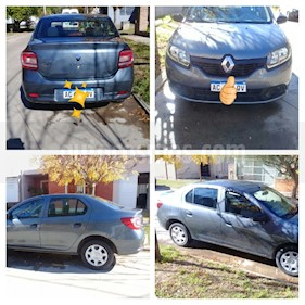 Renault Logan 1.6 Authentique Plus usado (2018) color Gris Acero precio $500.000