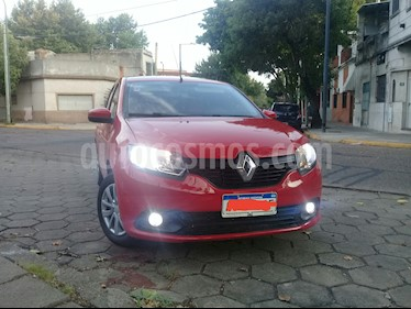 Renault Logan 1.6 Authentique usado (2018) color Rojo Vivo precio $625.000