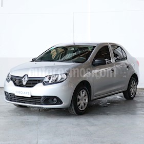 Renault Logan 1.6 Authentique usado (2017) color Gris precio $610.000
