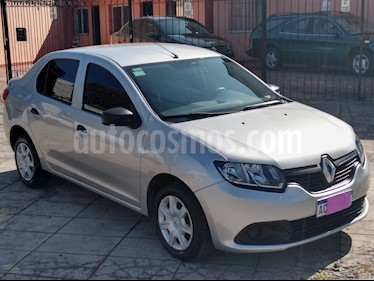 Renault Logan 1.6 Authentique usado (2018) color Gris precio $545.000