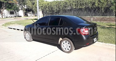 Renault Logan 1.6 Authentique usado (2015) color Negro precio $400.000