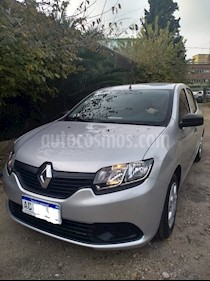 Renault Logan 1.6 Authentique Plus usado (2018) color Gris precio $550.000