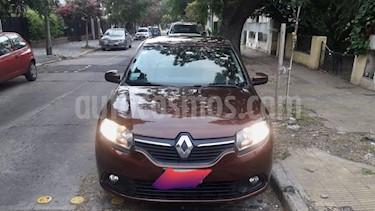 Renault Logan 1.6 Expression usado (2014) color Marron precio $400.000