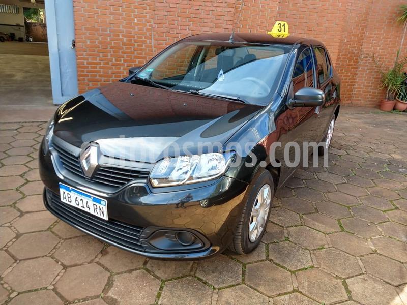 Renault Logan Authentique Plus usado (2017) color Negro precio $830.000