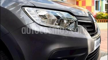Renault Logan 1.6 Expression usado (2020) color Gris Claro precio $434.500