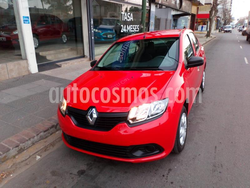 Renault Logan 1.6 Authentique usado (2020) color Rojo precio $610.000