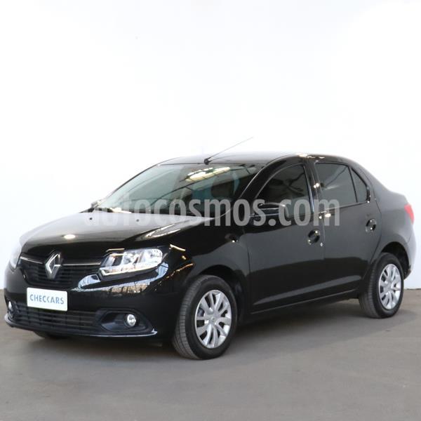 Renault Logan 1.6 Expression usado (2018) color Negro Nacre precio $1.006.000