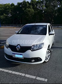 Renault Logan 1.6 Authentique usado (2018) color Blanco Glaciar precio $546.000