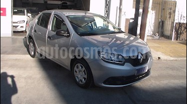 Renault Logan 1.6 Authentique Plus usado (2017) color Plata precio $549.900