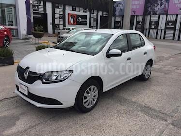 Foto venta Auto Seminuevo Renault Logan Authentique (2017) color Blanco precio $159,000