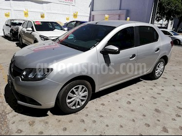 Foto venta Auto usado Renault Logan Authentique (2017) color Plata precio $129,000