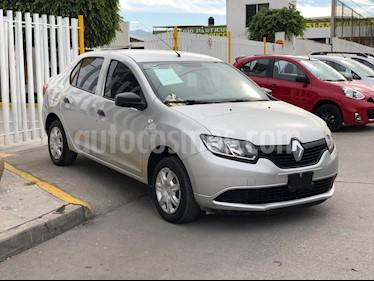 Foto venta Auto usado Renault Logan Authentique (2017) color Plata precio $125,000