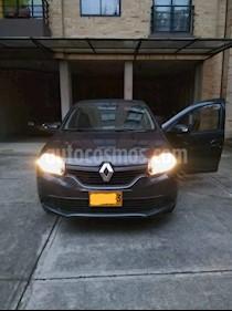 Renault Logan Life   usado (2019) color Gris Cometa precio $31.000.000