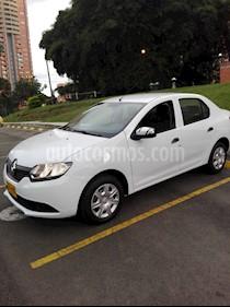 Renault Logan Life  usado (2018) color Blanco Artico precio $28.000.000
