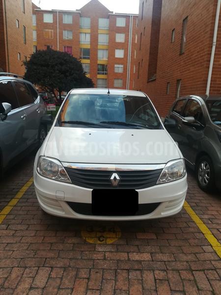 Renault Logan Expression usado (2015) color Blanco Artico precio $22.500.000